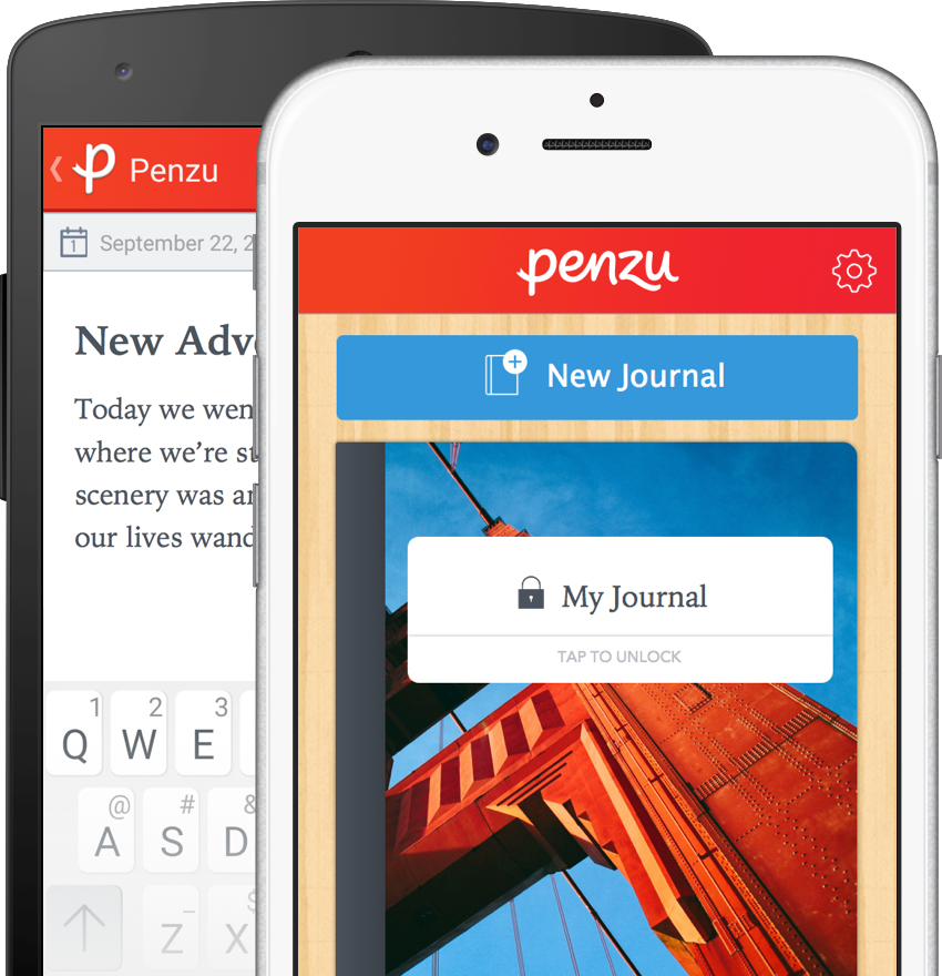Penzu Mobile for Android and iOS